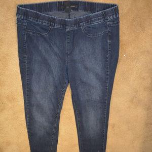 Calvin Klein Skinny Jeans Size 16W